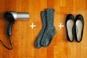 Как растянуть туфли из кожзама