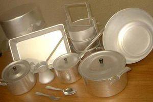 Как почистить алюминиевую посуду