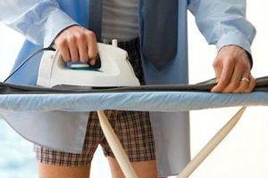 Как гладить брюки?