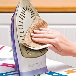 Почистить утюг с керамическим покрытием