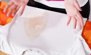Как убрать след от утюга