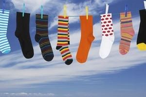 Как стирать и сушить носки