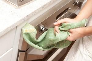 Кухонные полотенца - стирка