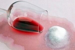 Чем вывести красное вино