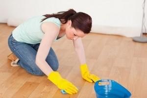Как отмыть линолеум от грязи