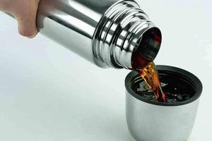 Как почистить термос от чайного налета