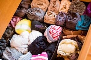 Как навести порядок в шкафу с вещами