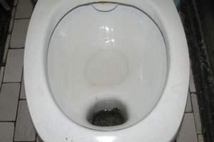 Чем отмыть ржавчину в унитазе