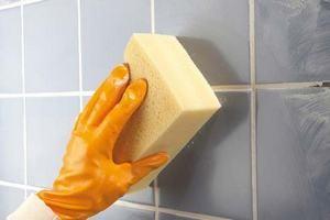 Как и чем очистить плитку от затирки