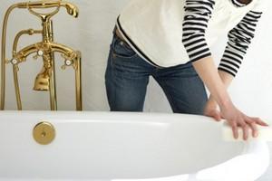 Чем очистить ванну в домашних условиях