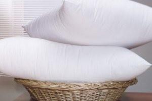Подушки с искусственным наполнителем