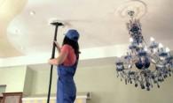 Как мыть натяжные потолки глянцевые – пошаговая инструкция