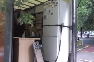 Перевозка холодильника в горизонтальном положении