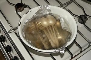 Чистка мельхиора в домашних условиях
