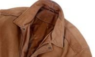 Чем почистить воротник кожаной куртки от различных пятен?