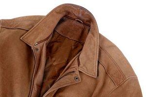 Чем почистить воротник кожаной куртки