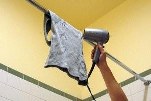 Как высушить вещи