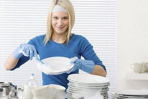 Rак быстро помыть посуду