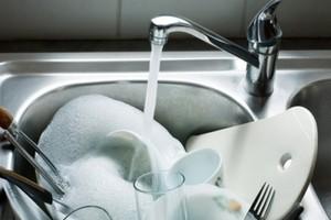 Как помыть посуду