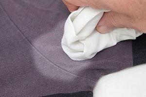 Пятна от пота на одежде