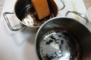 Как почистить эмалированную кастрюлю внутри