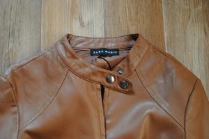 Как разгладить куртку из кожзама