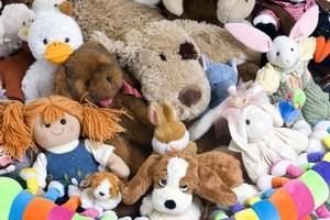 Стирка игрушек