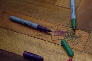 Как вывести маркер с ткани