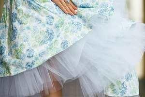 как накрахмалить платье