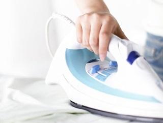 разглаживание тканей утюгом