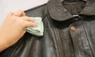 Как стирать кожаную куртку – советы по удалению пятен
