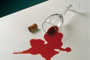 Rак вывести пятна от вина