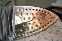 чистка утюга от нагара