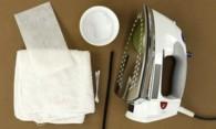 Как очистить утюг от пригара с помощью народных методов?