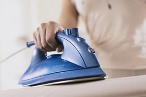 как гладить пододеяльники