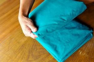 как правильно гладить пододеяльник