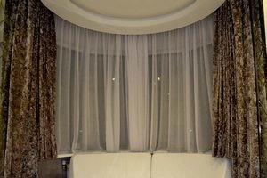 как погладить шторы