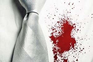 вывести пятна крови
