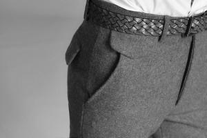 как гладить шерстяные брюки