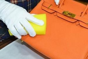 как покрасить сумку из кожзама