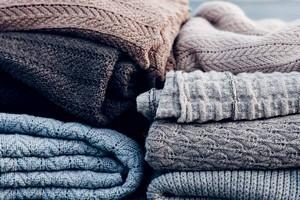 как гладить свитер
