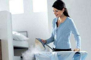 как гладить утюгом с паром