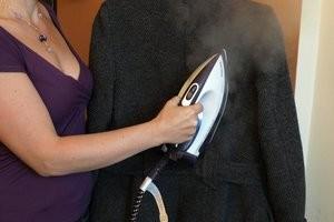 как погладить кашемировое пальто