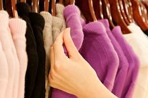 как гладить шерстяное пальто