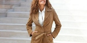 Как погладить пальто в домашних условиях из замши и полиэстера?