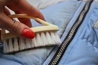 чистить пуховик