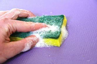 как постирать коврик для мыши