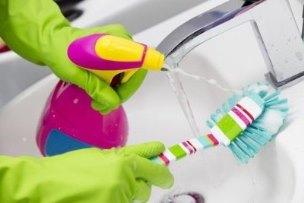 как помыть ершик