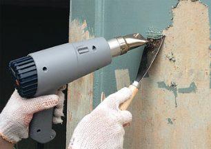 как удалить со стены краску