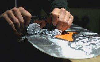 как парафинить сноуборд